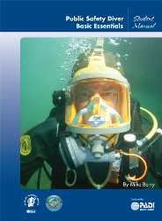 PADI Public Safety Diver manual