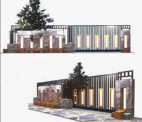 Contoh Gambar Desain dan Bentuk Pagar Rumah Minimalis Modern