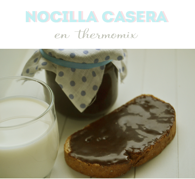 Nocilla Casera Thermomix Receta