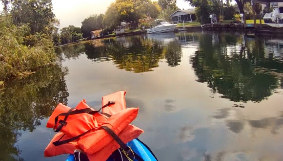Kanäle von Crystal River