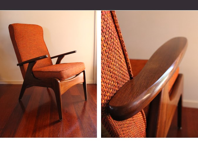 Bon Available: Pair Of Mahogany Airest Rocket Chairs