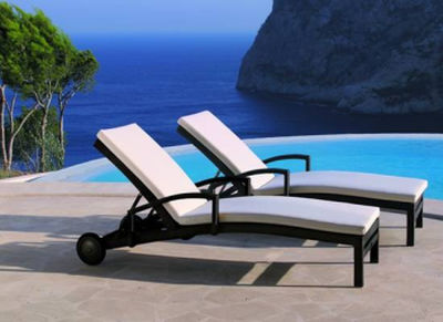 Ligstoel Tuin Aluminium : Tuin ligstoelen aluminium u2013 halve parasol