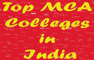 MCA Colleges In India