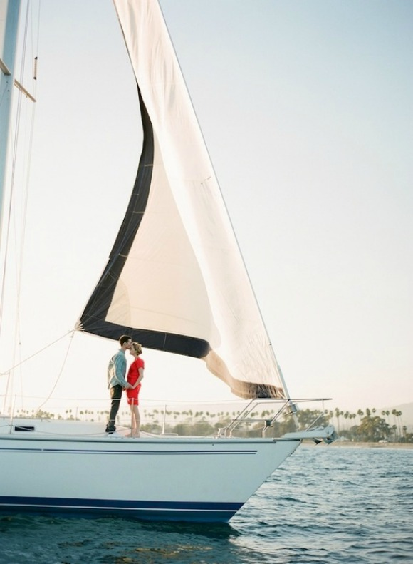 engagement sailing