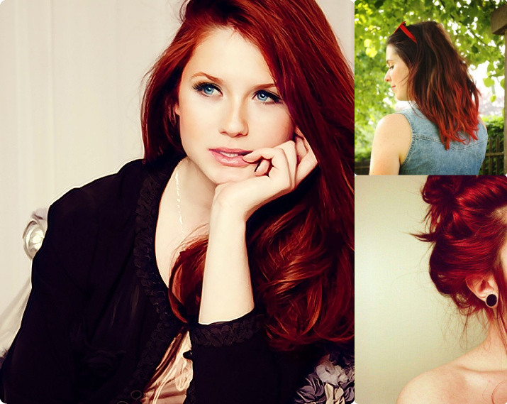 Frisuren Fur Lange Rote Haare Rerekenetasya Web