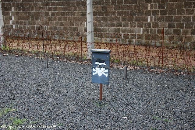 Death strip at Sachsenhausen concentration camp, Berlin Germany Oranienburg