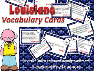 https://www.teacherspayteachers.com/Product/LOUISIANA-Vocabulary-Cards-2349743