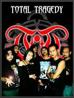 """Biografi  Berdiri di kota Surabaya tahun 1997 oleh HARRU """"Sakral Death"""" (Surabaya Death Metal) dan SAM""""Kendath"""" (Surabaya Black Metal),dengan nama awal """"ARMY OF GOD"""". namun dengan masuknya personil baru Martha ( Female Vocal ),Wisnu (Guitar),Richard (R.I.P) (Bass),Eko (Drum ),Taufani (Keyboard). Mereka merubah nama menjadi TOTAL TRAGEDY (Kiamat) yang bergenre DOOM GOTHIC METAL. Dengan formasi pertama ini sekitar tahun 1998. Wisnu, Taufani dan Richard  (R.I.P)resmi mengundurkan diri, karena adanya kepentingan diluar band. Dan disaat itu ADI dan AO masuk untuk mengisi kekosongan yang ditinggalkan Wisnu dan Taufani. Formasi saat itu Harru ( Male Vocal ), Martha (Female Vocal), Sam (Guitar ) Adi ( Keyboard ) Ao ( Bass )Eko ( Drum ) Dengan formasi ke-2 ini tahun 2000, TOTAL TRAGEDY mengeluarkan materi demo berisi dua buah single,yaitu """" SINAR BATAS SEPI &KISS OF DEATH """".  Tak berselang lama, tahun 2001, TOTAL TRAGEDY mengeluarkan debut album perdana mereka, yaitu """"EVERY STORY HAS A GLORY"""", dibawah label SONNEN GOTT MUSIK. Album tersebut mendapat respons Metal Head Indonesia yang begitu luar biasa. Dari data Label untuk """" EVERY STORY HAS A GLORY """", hasil penjualan albumnya melebihi 5.000 copy. Dua buah single di albumtersebut masuk dalam kompilasi Mayor Label, yaitu """" Hampa Kumenanti (METALIK KLINIK #5) """" dan """" Tenggelam Di Telan Duka (LEGION TIMUR) """". Pada awal tahun 2002 masuk kembali RICHARD (R.I.P) untuk kembali mengisi kekosongan di posisi guitar. Dipertengahan tahun itu TOTAL TRAGEDY meluncurkan album ke-2 mereka yg bertitle """" HEAVEN """"dibawah label SONNEN GOTT MUSIK. Tak berselang lama setelah album """"HEAVEN""""dirilis, MARTHA & EKO mengundurkan diri dan khusus untuk RICHARD, karena kehendak takdir, dia berpulang kerumah Tuhan. Saat itu terjadi perubahan formasi personil dalam diri TOTAL TRAGEDY, Adi beralih keposisi Guitar. Untuk mengisi  kekosongan pada Female Vocal, Keyboard & Drum, TOTAL TRAGEDY memakai Additional Player.   Pada tahun 2006, TOTAL TRAGEDY mengeluarka"""