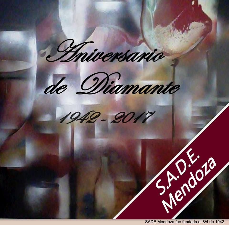 """1942 - 2017 """"S.A.D.E. Mendoza cumple su aniversario de diamante"""""""