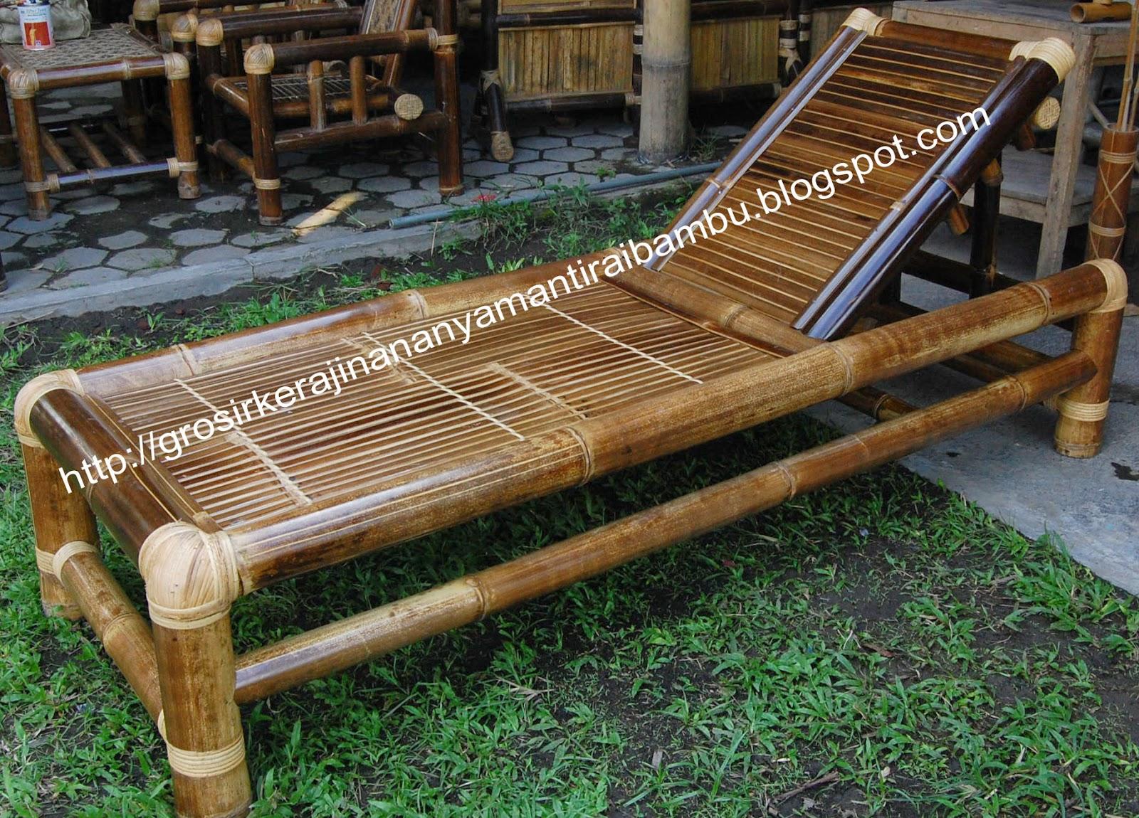 Jual Kursi Bambu
