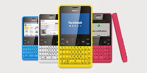 Info Harga HP Nokia Asha Terbaru 2014