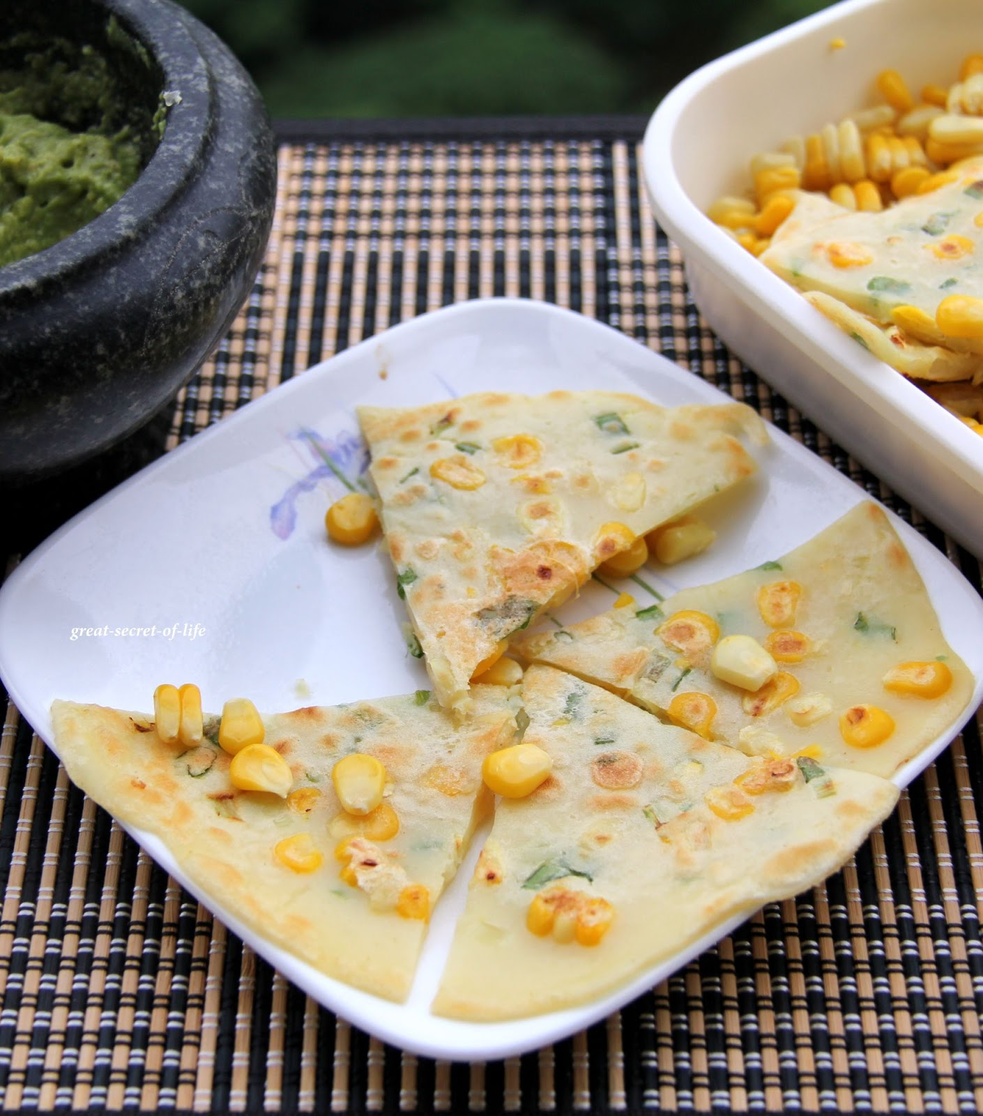 Korean Corn Pancake| Great-secret-of-life