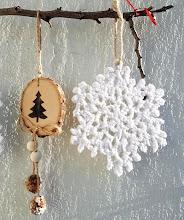 Estrellas de Navidad a crochet