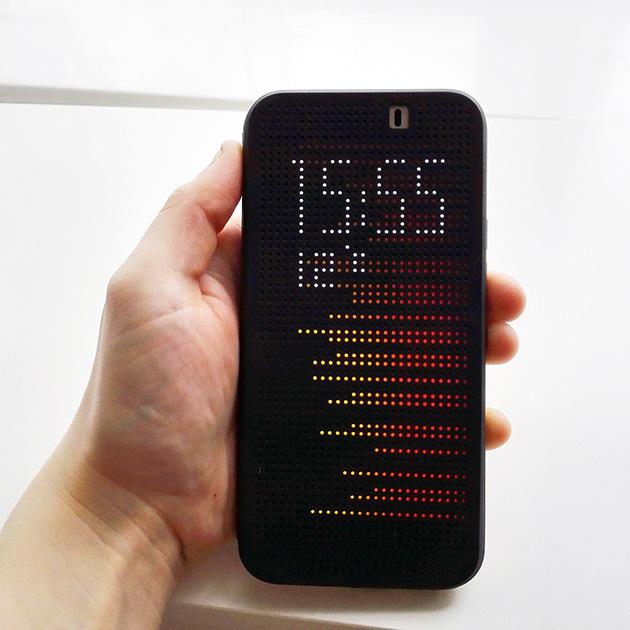เคส Dot View สำหรับ M9 Plus - 138006 สีดำ