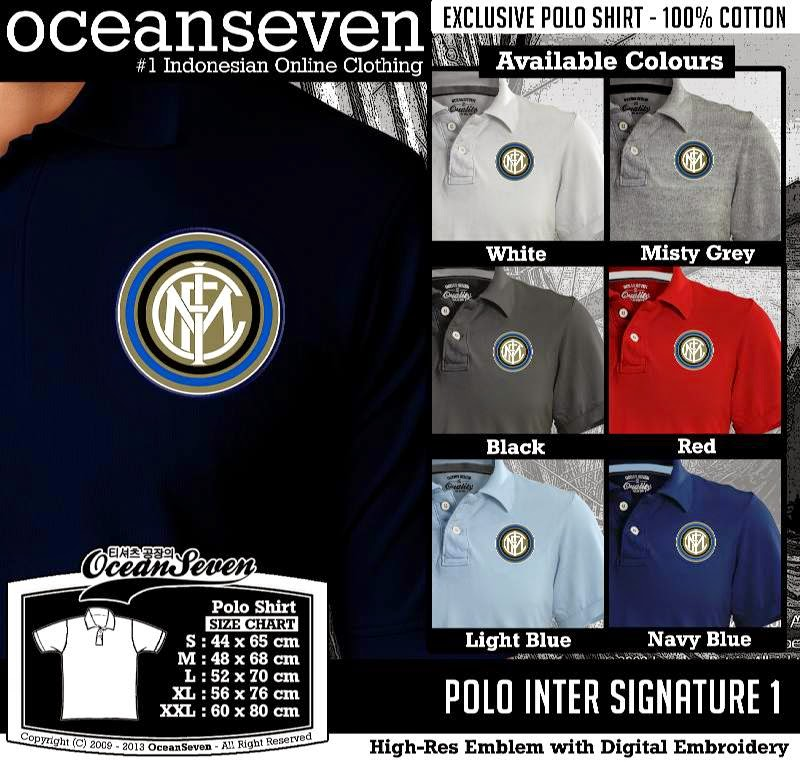 Kaos Polo Inter Signature 1