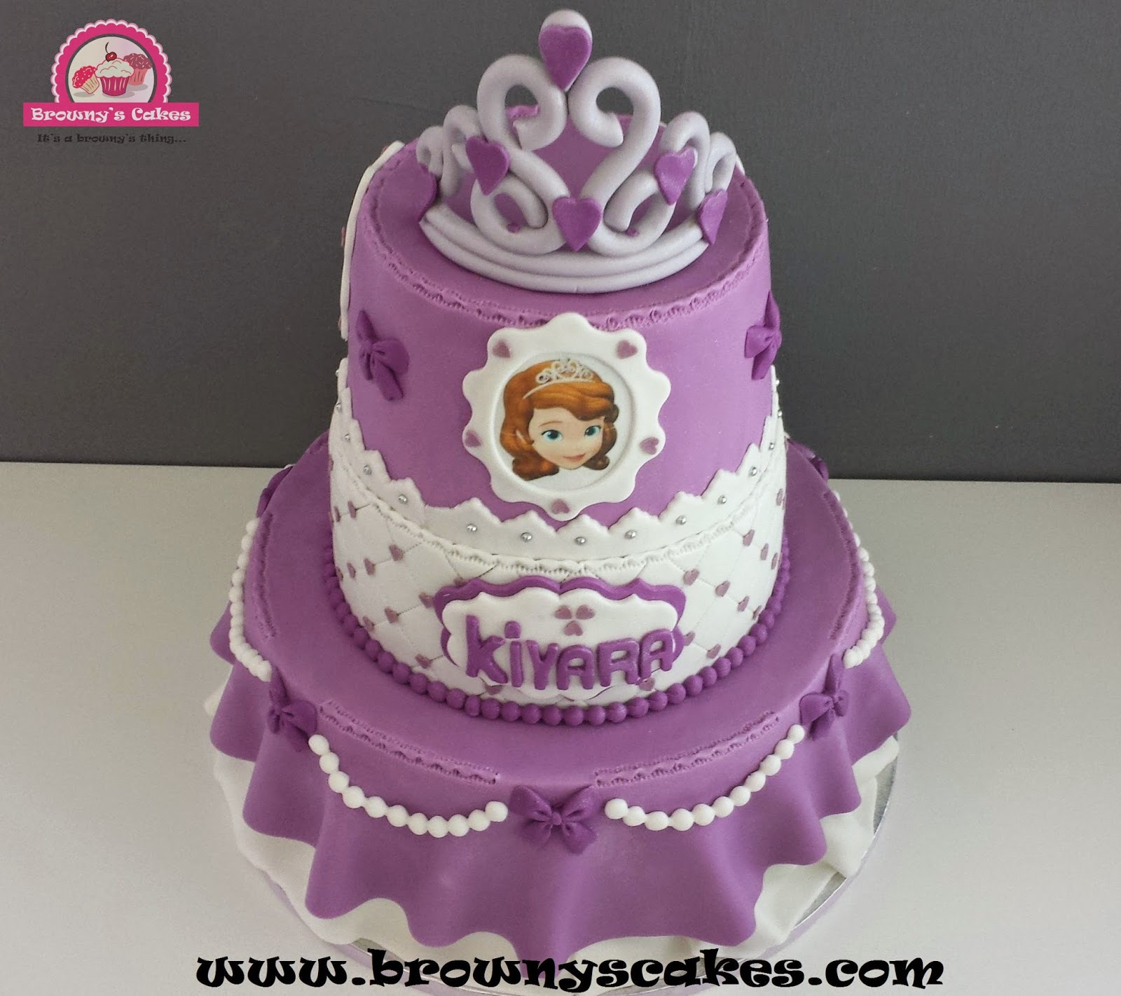 Pictures Of Princess Sofia Cake : Browny s Cakes : Taart Portofolio