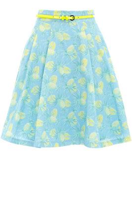 oasis, pineapple skirt,