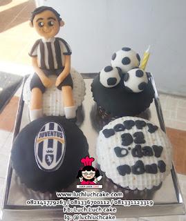 Juventus Cupcake 3d