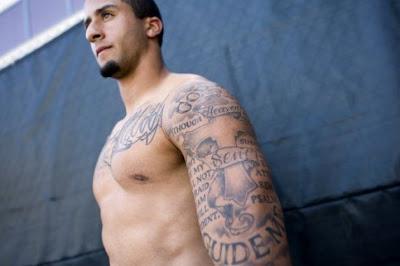 kaepernick tattoos