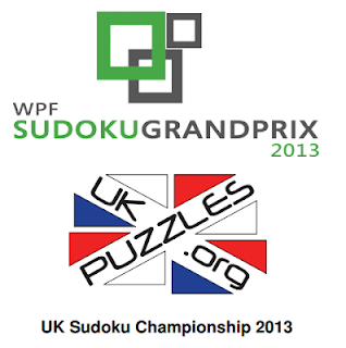 Sudoku Grand Prix round 5 &amp; 2013 UK Sudoku Championship 