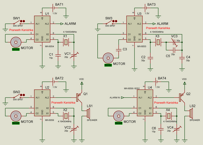 1Hz Oscillator Circuits