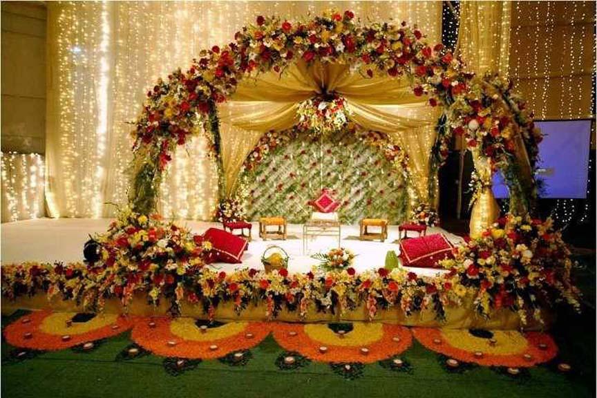 Bengali wedding guide gaye holud or turmeric on the body stage gaye holud or turmeric on the body stage decoration idea junglespirit Images