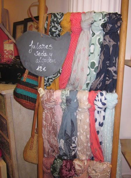 Fulares seda y algodon