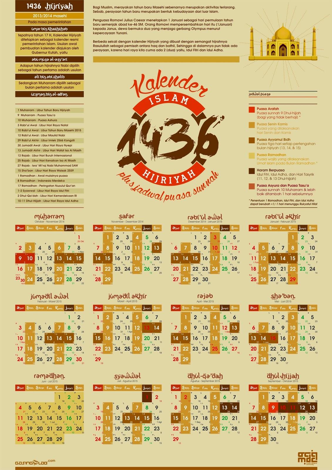 Kalender Islam 2015 Indonesia Bulan Islam | Search Results | Calendar ...