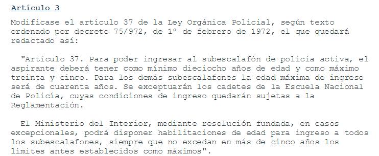 Llamado ministerio del interior 300 cargos de guardias for Llamado del ministerio del interior 2016