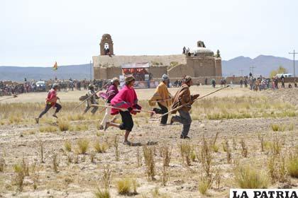 la guerra civil en bolivia: