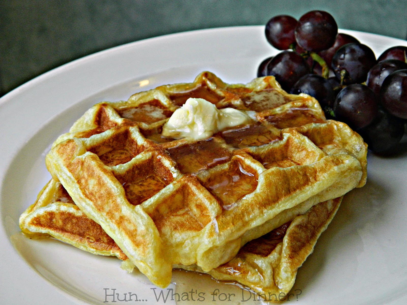 Crispy Waffles | Hun... What's for Dinner?