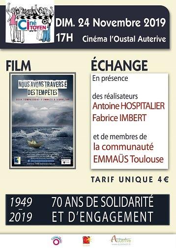 Ciné Citoyen 24 Novembre 2019