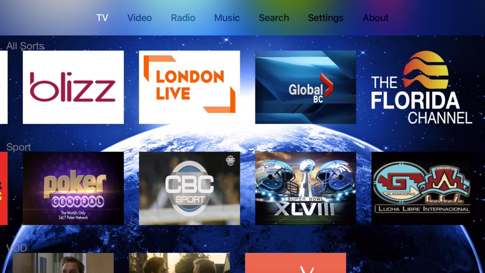 Stream tv ver 1 8 released