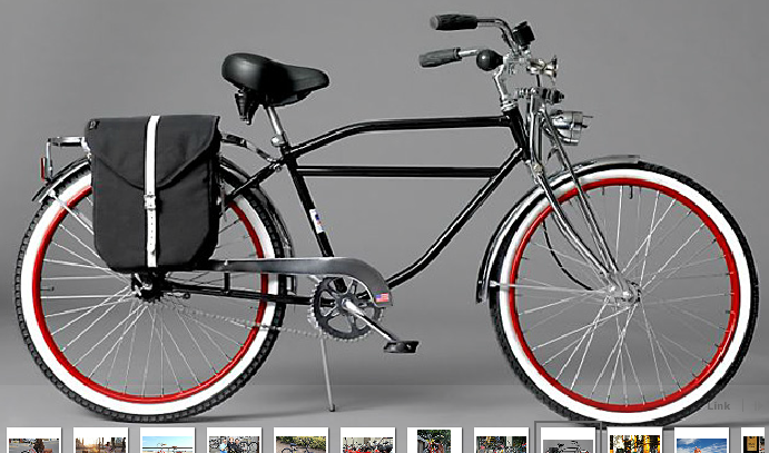 Cruiser Bikes For Large People men s cruiser at left