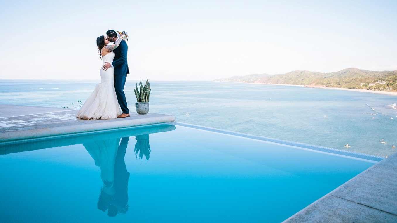 Jeni and Oscar's gorgeous destination wedding in Sayulita, Mexico. Photo by STUDIO 1208