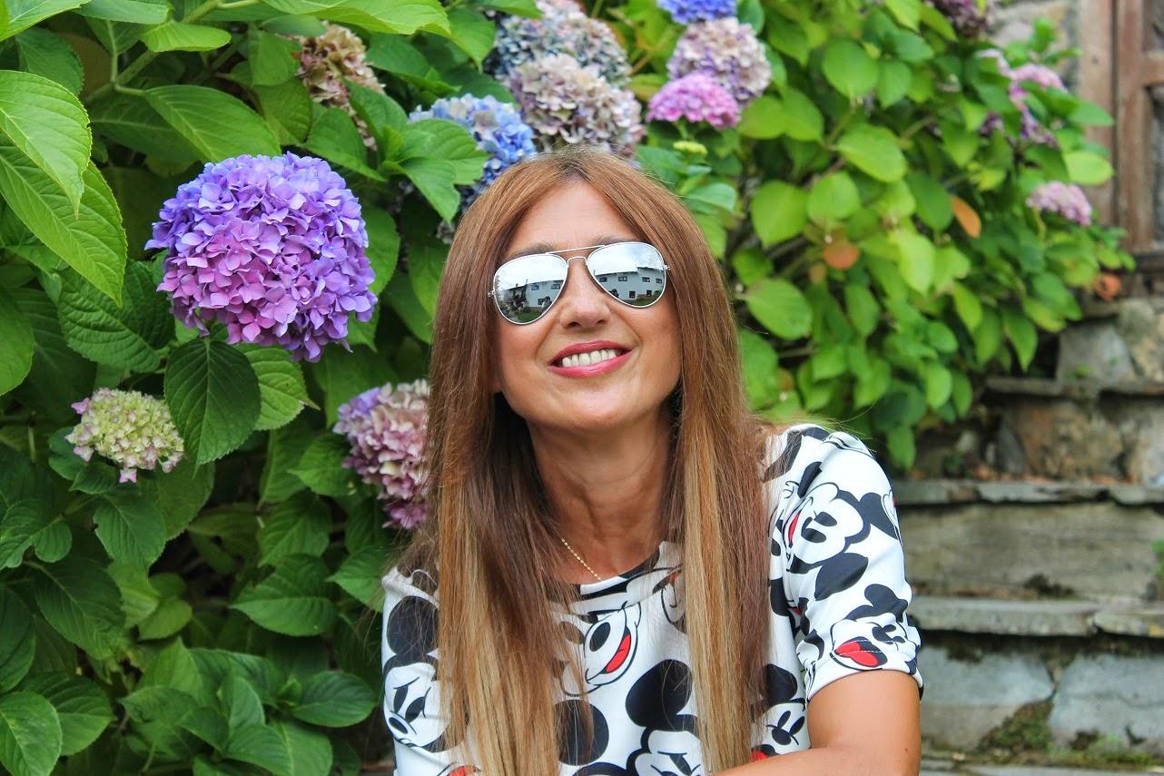 T-Shirt, Mickey Mouse, Posada Mellante, Pechón, Cantabria, Travel, Summer, Look, Street Style, Fashion Style, Carmen Hummer, Blog de Moda