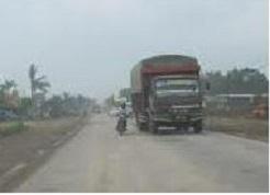 Disitribusi barang Via darat Tujuan Kalimantan
