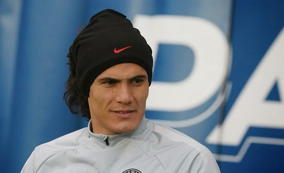 Edinson Cavani set to leave in January