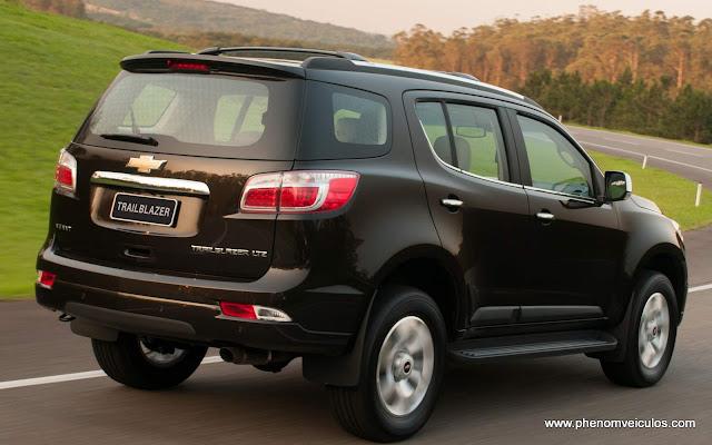 Nova Chevrolet Blazer 2013
