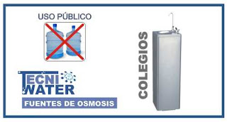 alquiler o comprar fuentes de osmosis inversa para colegios al público