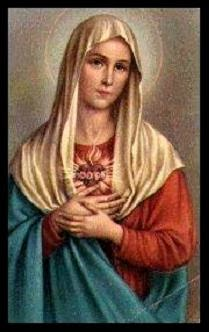 This website is under the patronage of the Immaculate Heart of Mary