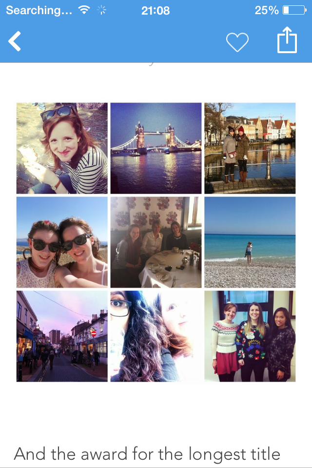 Instagram: RhiannonBlog Top Things That Happened in 2014