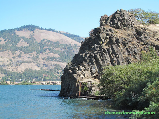 Columbia Gorge View Rest Stop 13