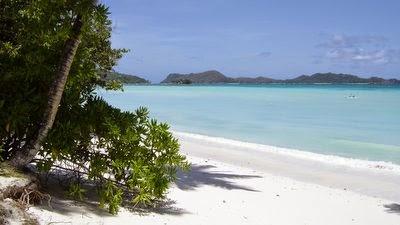 Plage aux Seychelles