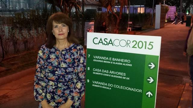 Sonia Hecher na Casa Cor SP 2015