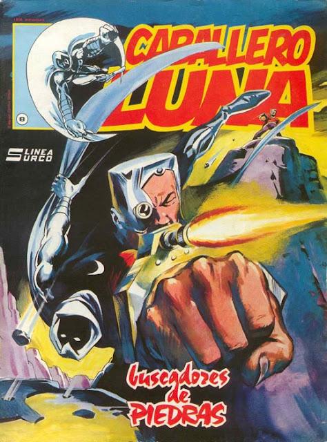 Portada del Caballero Luna Nº 8 Ediciones Surco