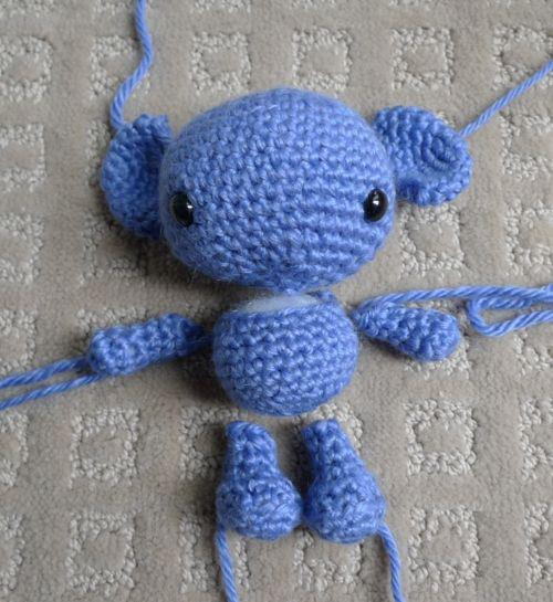 Crochet.es.un.arte!: Un osito de crochet para regalar