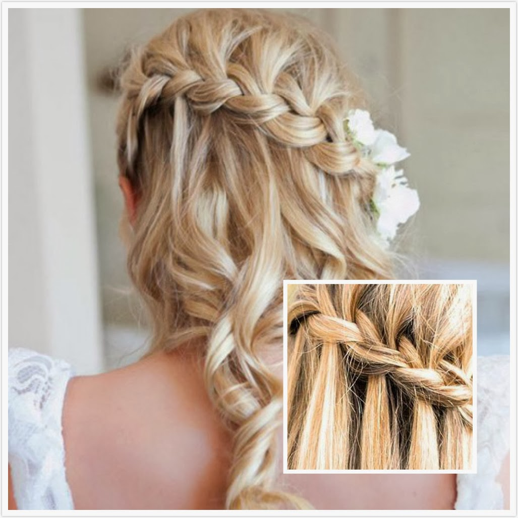 the-waterfall-braid-wedding-hairstyle