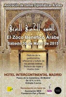 Zoco Benéfico Árabe en Madrid