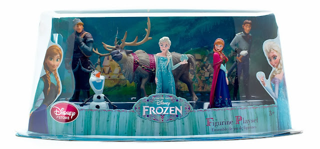 Figuras PVC de Frozen Disney Store caja